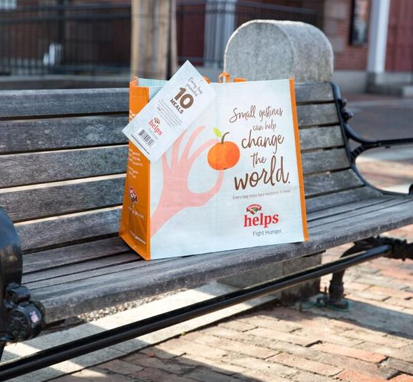 HANNAFORD - HUNGER BAG - BENCH